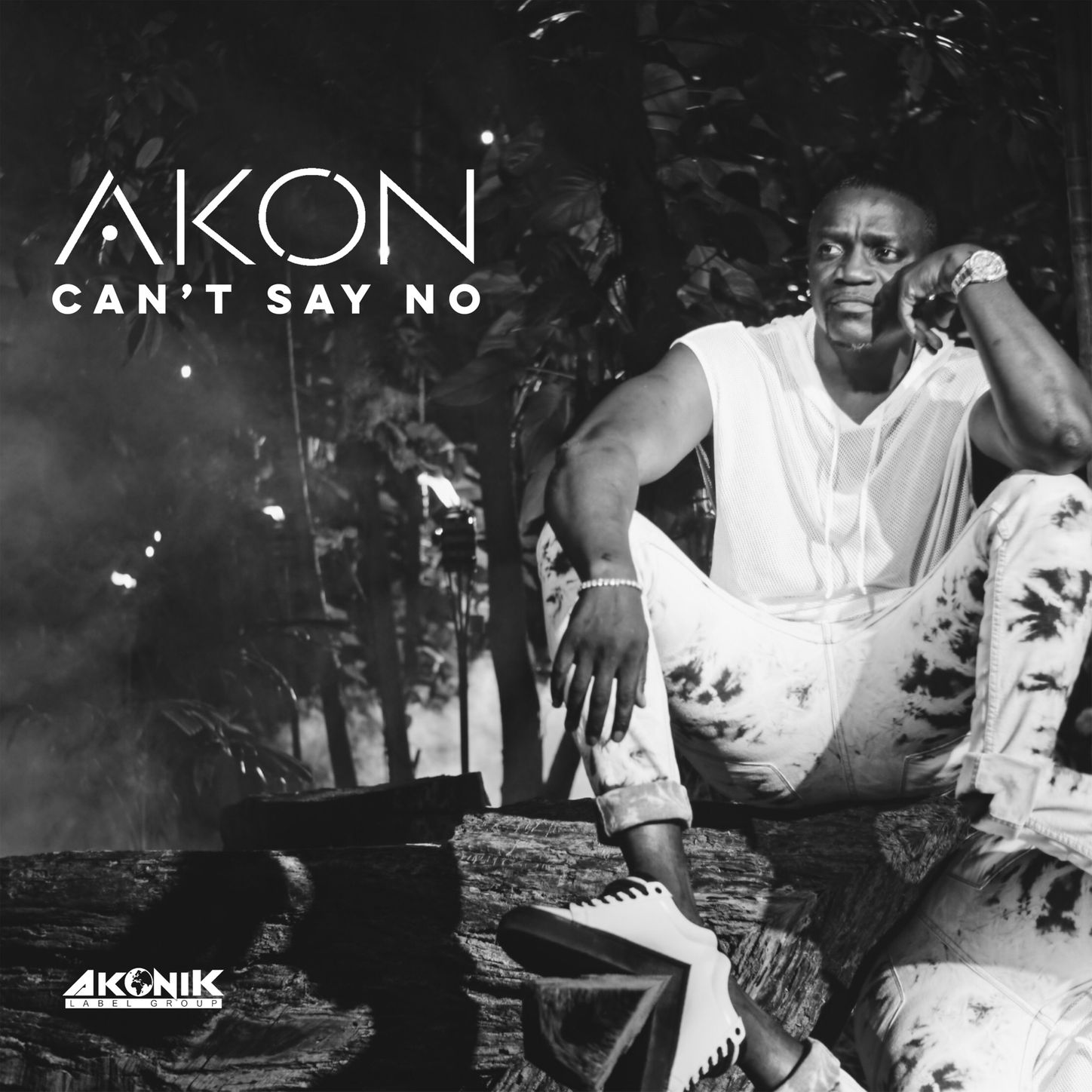 Akon- Can't Say No Single Cover